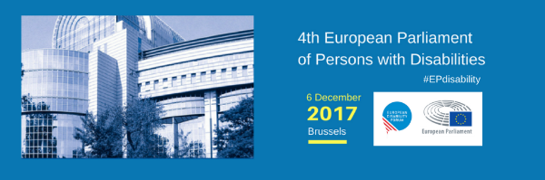 4th European Parliament of Persons with Disabilities- EDF Media Release
